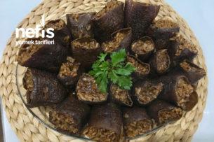 Kuru Patlıcan Dolması (Ekşili) Tarifi