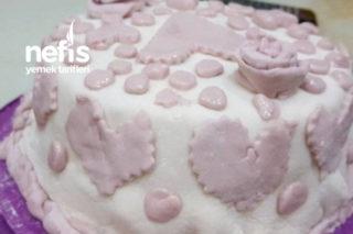 Şeker Hamur Kaplı Muzlu Pasta Tarifi
