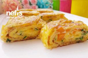 Kore Mutfağı Yumurta Rulosu (Egg Rolls) Tarifi