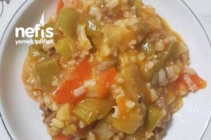 Kıymalı Pirinçli Pırasa ( Çocuklara Pırasayı Sevdiren Tarif) Tarifi