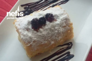 Porsiyonluk Rulo Pasta Tarifi