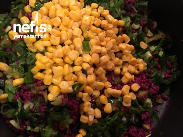 Şalgam Sulu Bulgur Salatası