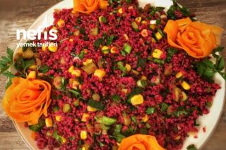 Şalgam Sulu Bulgur Salatası Tarifi