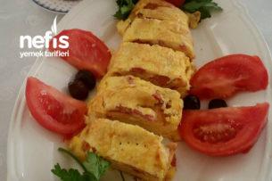 Yumurtadan Rulo Pasta Tarifi