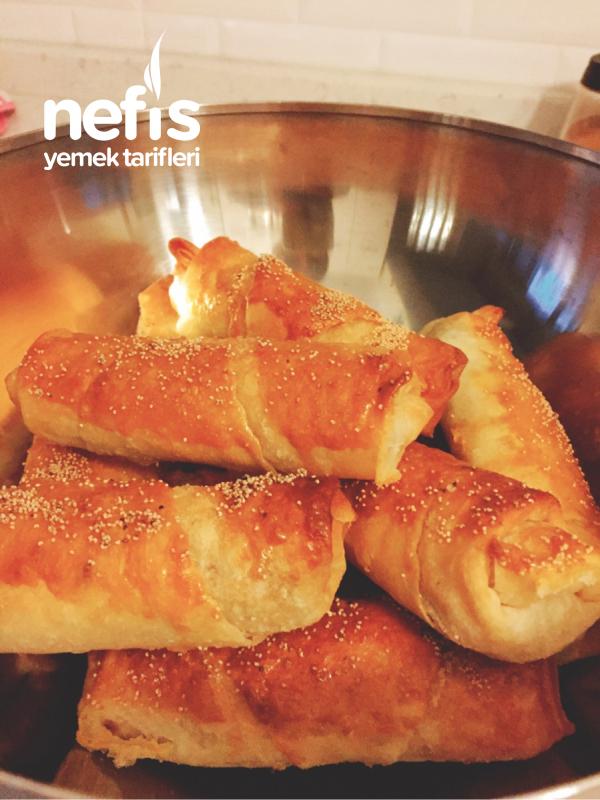 Ispanaklı Çıtı Yufka Böreği