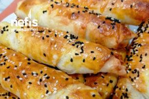 Kıymalı Mantarlı Ve Peynirli Çıtır Rulo Börek Tarifi