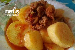 Patates Musakka (Çiğden) Çok Kolay Çok Lezzetli Tarifi
