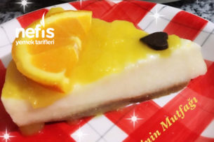 Portakal Soslu Yalancı Cheesecake Tarifi