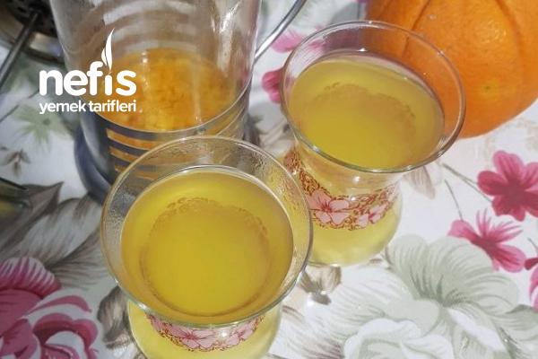 Portakallı Doğal Oralet Tarifi