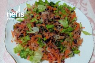Vitamin Bombası Kış Salatası Tarifi