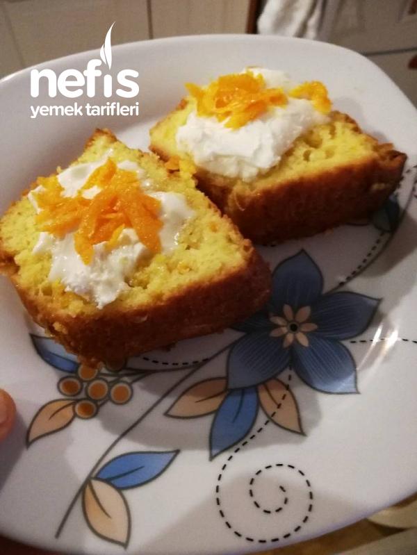 Zerdeçallı Portakallı Kek