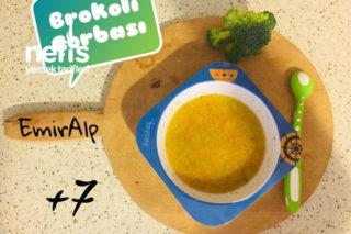Bebişlere Brokoli Çorbası Tarifi