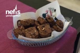 Çikolatalı Cevizli Efsane Kurabiye Tarifi