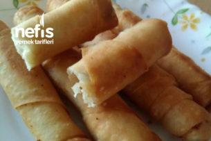 Çıtır Sigara Böreği (Sosu Değişik)  3 Peynirli Tarifi