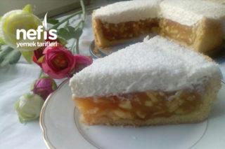 Kremalı Elmalı Pasta (Apfelsahne Torte) Tarifi