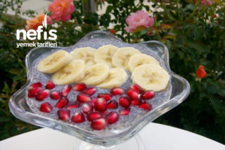 Meyveli Chia Puding (Lif Deposu) Tarifi
