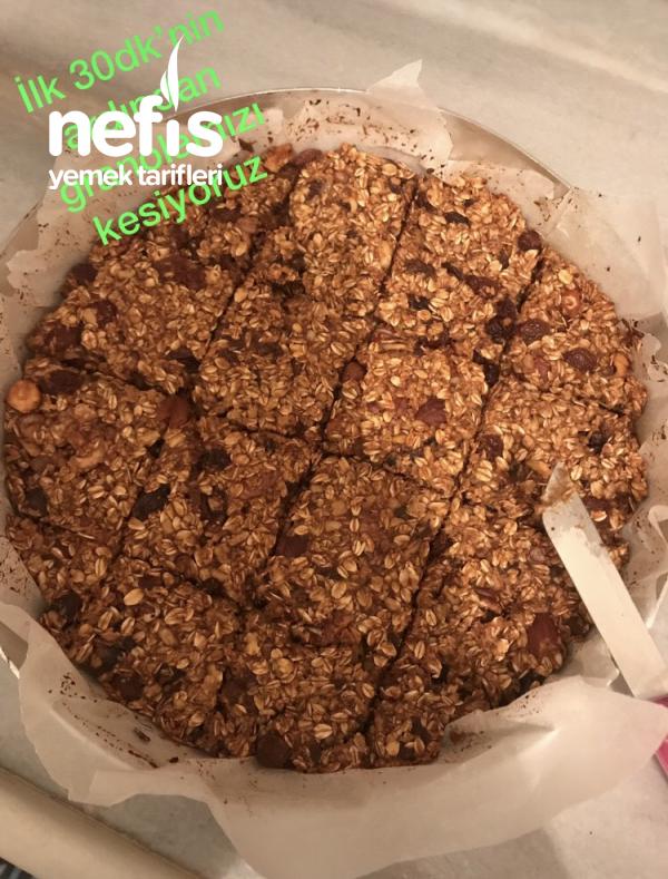 Nefis Granola Bar  (sağlıklı ve kolay)