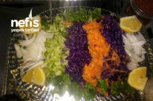 Pratik Ve Lezzetli Kış Salatası Tarifi