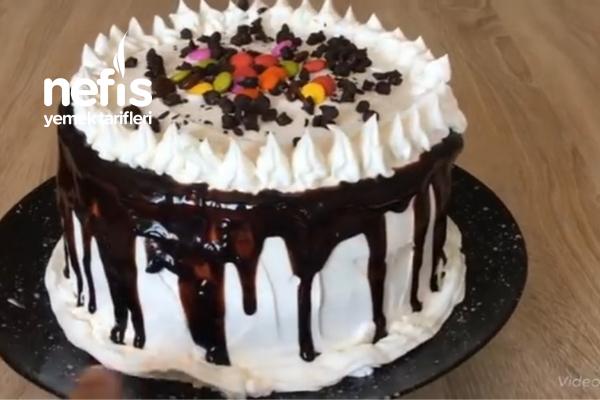 10 Dakikada hazır Doğum Günü Pastası ( Videolu )