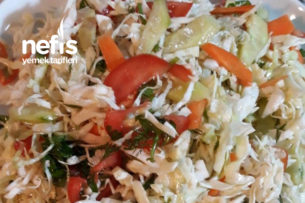 Beyaz Lahana Salatası Tarifi