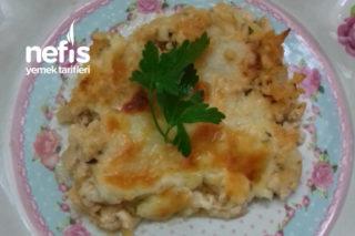 Fırında Beşamel Soslu Patates (Tavuk Kıyması İle ) Tarifi