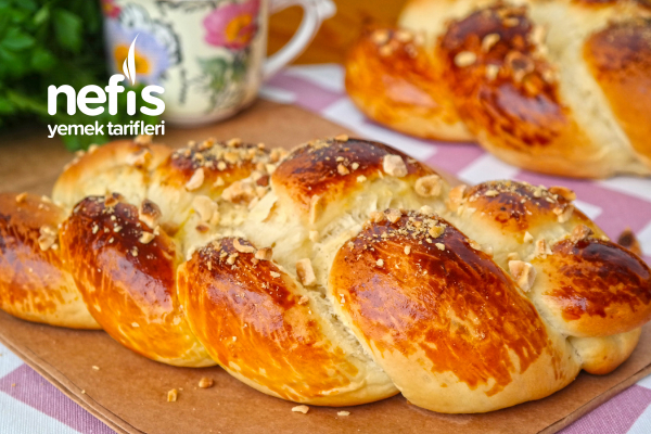 Hazırından Farksız Paskalya Çöreği Yapımı (videolu) Tarifi
