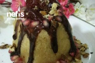 Pasta Görünümlü İrmik Helvası Tarifi