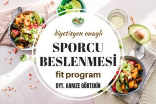 Sporcu Beslenmesi – Diyetisyen Onaylı En İyi Fit Beslenme Programı Tarifi