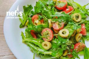Üç Yeşil Salatası Tarifi