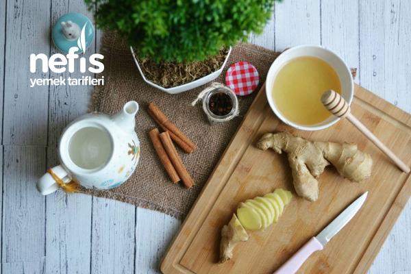 Zencefil Çayı (Öksürük İçin) Tarifi