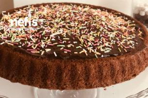 Kakao Kremalı Tart Kek Tarifi