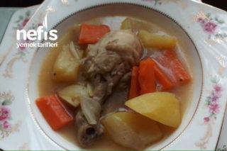 Sebzeli Tavuk Haşlama (Mis Kokulu) Tarifi