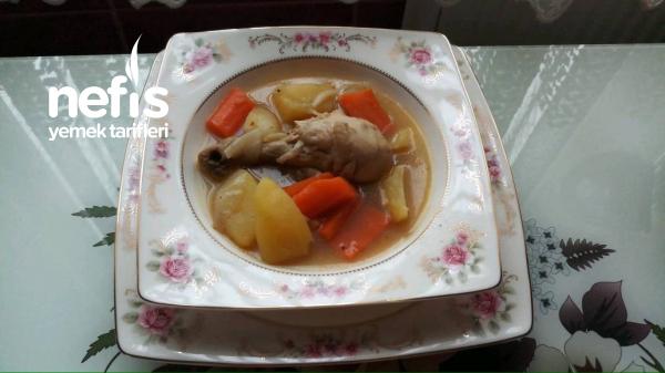 Sebzeli Tavuk Haslama(miss Kokulu)