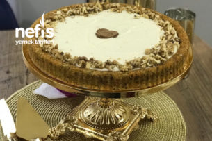 Tart Kalıbında Havuçlu Kek Tarifi