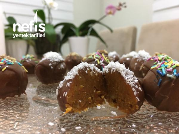 Havuçlu Çikolatalı Truff
