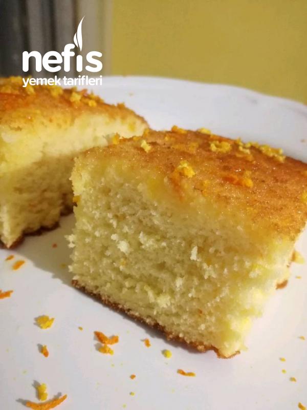 Borcamda Pamuk Gibi Portakallı Kek