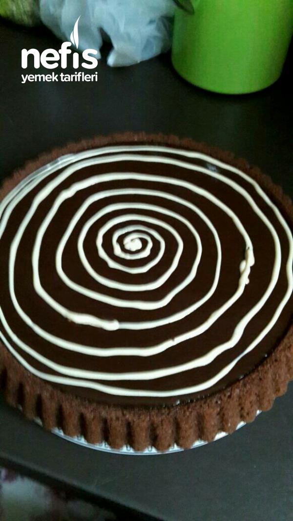 Çikolata Soslu Pamuk Tart Kek