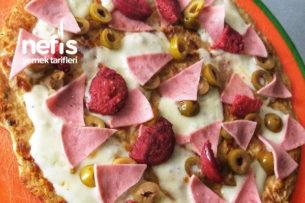 Sağlıklı Pizza Tarifi