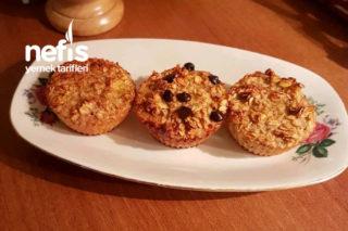 Muzlu Yulaflı Muffin Tarifi