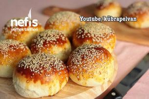 Hamburger Ekmeği (Videolu) Tarifi
