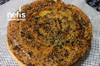 Ispanaklı Diyet Börek Tarifi