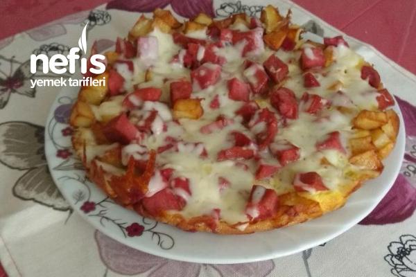 Kahvaltılık Yalancı Pizza Tarifi