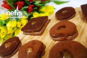 Kakaolu Marmelatlı Kurabiye Tarifi