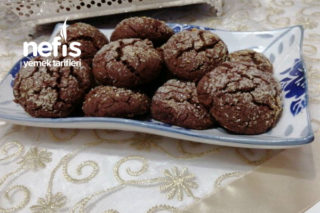Kakaolu, Hindistan Cevizli Çatlak Kurabiye (Dikkat Bayılmayın) Tarifi