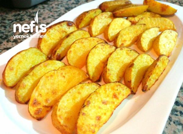 Ozel Sosuyla Elma Dilim Patates