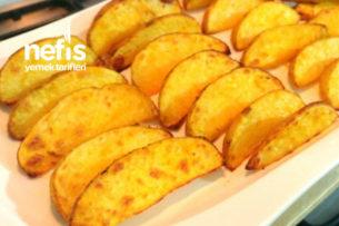 Özel Sosuyla Elma Dilim Patates Tarifi