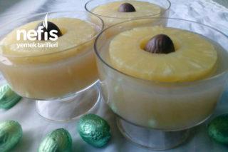 Ananaslı Muhallebi Tarifi