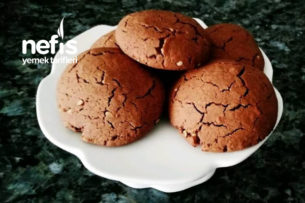 Çikolatalı Fındıklı Çatlak Kurabiye Tarifi
