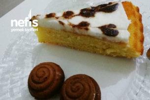 Kremalı Portakallı Tart Kek Tarifi