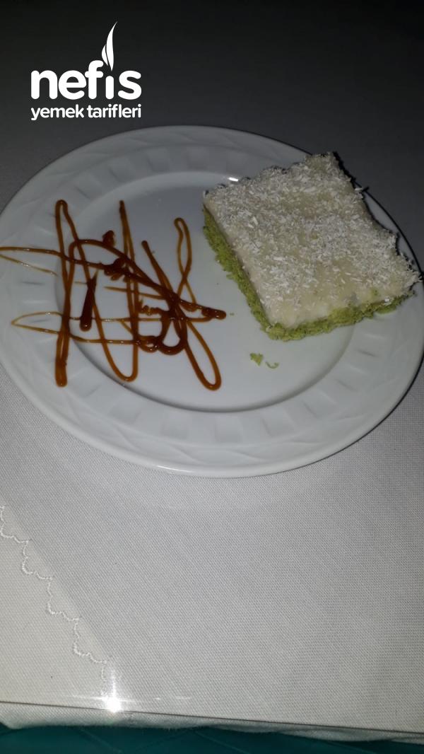Muzlu Muhallebili Ispanaklı Kek